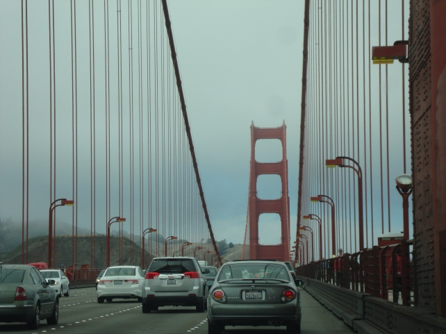 Golden Gate covered in cloud Seized by - A&R