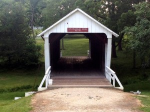 The Cutler-Donahoe Covered Bridge