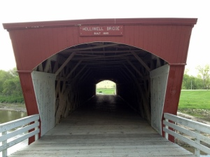 The Holliwell Covered Bridge