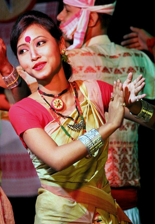 Bihu dance from Assam