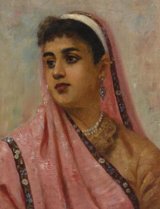Raja Ravi Verma: The Parsee Lady